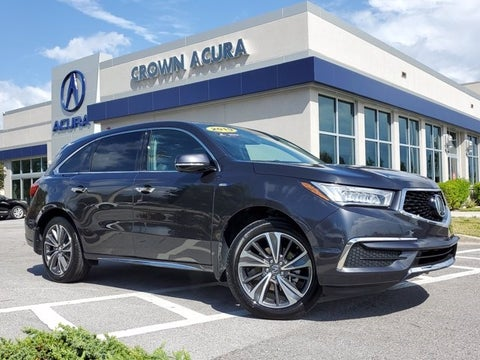 2019 Acura Mdx Sport Hybrid W Technology Pkg In Tampa Bay Fl Crown